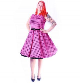 allegra_dress_pinkblk_dots_xxl